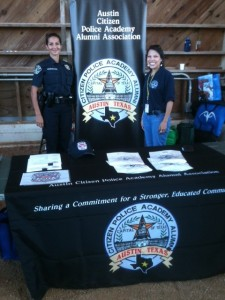SPO Scanlon and ACPAAA President Melinda Rodriguez at National Night Out 2014
